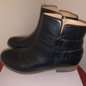 Franco Sarto Harwick black leather boot, 11M